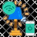 Smart Lamp Lamp Smart Icon
