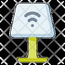 Lamp Iot Furniture Icon