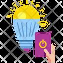 Smart Light Light Bulb Icon