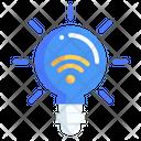 Smart Light Smart Lighting Smart Bulb Icon