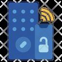 Smart Lock Internet Of Things Iot Icon