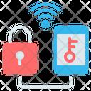 Smart Padlock Lock Icon