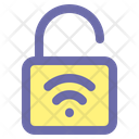 Smart Lock Unlock Padlock Icon