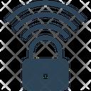 Lock Wifi Security Icon