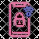 Smart Lock Smartphone Security Icon