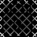 Lock Privacy Key Icon
