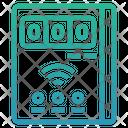 Smart Meter Internet Of Things Iot Icon