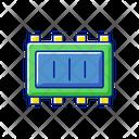 Smart Microchip Parts Icon