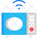 M Microwave Oven Icon