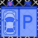 Smart Parking Smart Car Icon