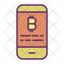 Smart Phone Cryptocurrency Smart Phone Bitcoin Bitcoin Icon