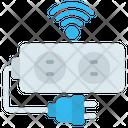Extension Cord Socket Smart Plug Icon
