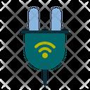 Smart Plug Plug Wireless Icon