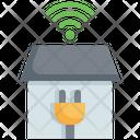 Smart Plug Plug Wifi Icon