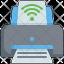 Smart Printer Printer Device Icon