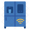 Smart Refrigerator Internet Of Things Iot Icon