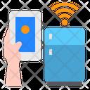 Refrigerator Smartphone Mobile Icon