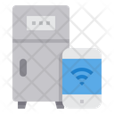 Smart Refrigerator Internet Of Things App Icon