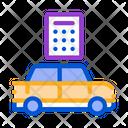 Smart Car Key Icon