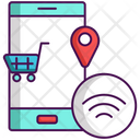 Smart Retail Online Shopping Shopping Cart Icon