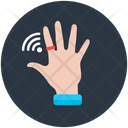 Smart Ring Wifi Ring Technological Ring Icon