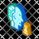 Robot Head Brain Icon