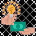 Idea Profit Money Icon