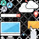 Smart Sharing Internet Icon