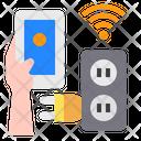Plug Sockets Electronic Icon