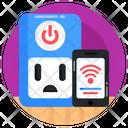Smart Socket Wireless Socket Internet Of Things Icon