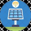 Smart Solar Panel Icon