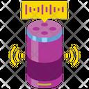 Smart Speaker Iot Technology Icon