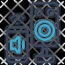 Speaker Smart Volume Icon