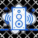 Smart Speaker Music Player Sound System Icon