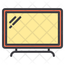 Smart Television Tv Screen Icon