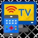 Smart Television Smart Tv Smartphone Icon