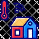 Temperature Changem Smart Temperature System Temperature Change Icon