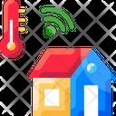Smart Temperature System Icon