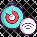 Smart Timer Alarm Clock Icon