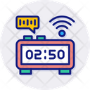 Smart Timer Digital Smart Icon