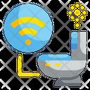 Smart Toilet Toilet Bathroom Icon