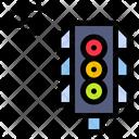 Smart Traffic Light Traffic Light Control Icon