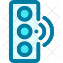 Traffic Lamp Smart City Transportation Icon
