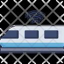 Smart Train Train Transportation Icon