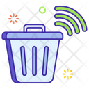Smart Trash Can Garbage Container Garbage Can Icon