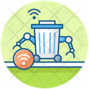 Smart Trash Can Icon