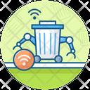 Smart Trash Bin Recycle Bin Trash Can Icon