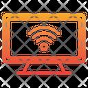 Smart Tv Smart Television Wifi Icon