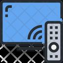 Smart Tv Tv Remote Icon