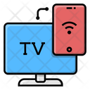 Smart Tv Connection Television Icon